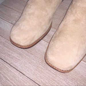 UGG Shoes - UGG Leather Suede Slip on Clog Style Boot
